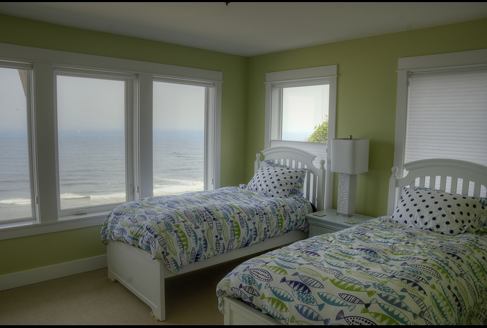 2nd Fl. Bedroom w/Twins & trundle ~ spectacular ocean view